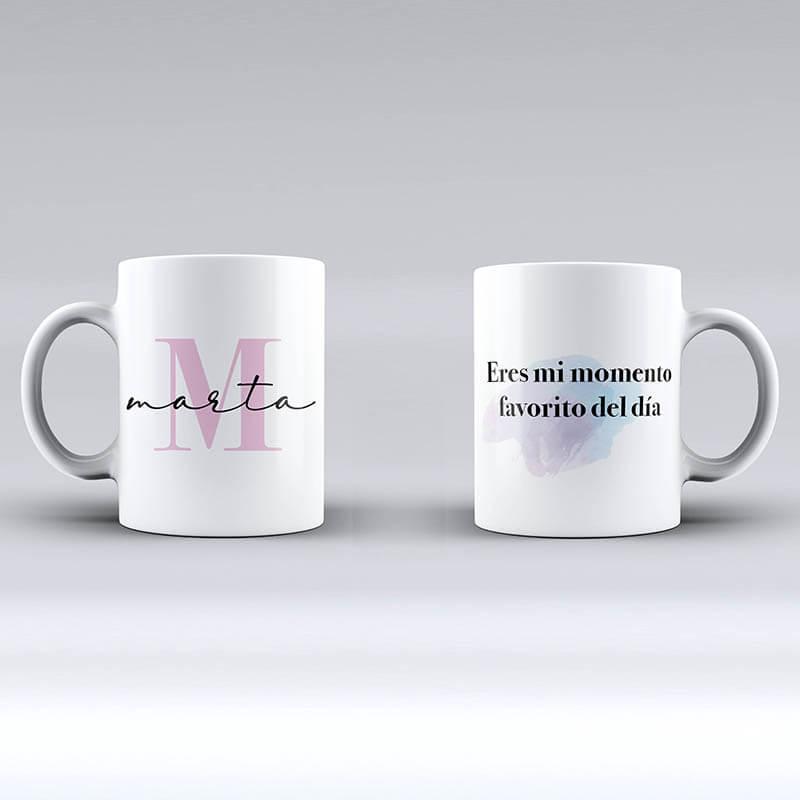 3 tazas personalizadas